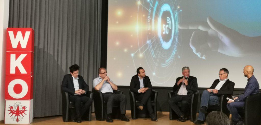 Podiumsdiskussion 5G Mobilfunk WKO Innsbruck
